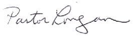 pastor signature